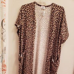 Cheetah print kimono by texas true